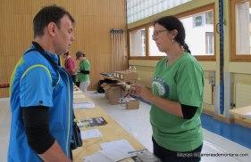 Entrega gps personal en Swiss iron trail 2014