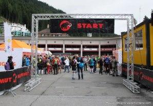 Davos: Salida 201k y Meta de las cinco carreras.