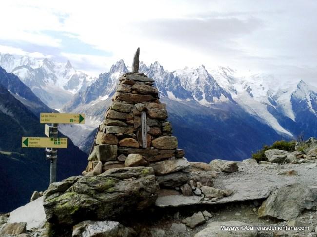 La Magia del Mont Blanc lucía así esta mañana en ruta a La Flegere