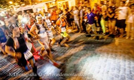 Salida Gran Trail Peñalara 2014, dentro de Spain Ultra Cup.