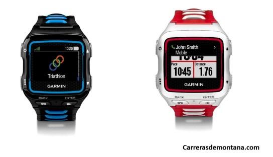 Garmin 920xt reloj gps Gramin Forerunner Carrerasdemontana.com