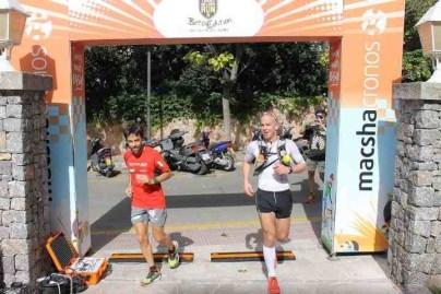 Casey Morgan cruza campeón la meta del transmallorcarun (Beta) en 2012