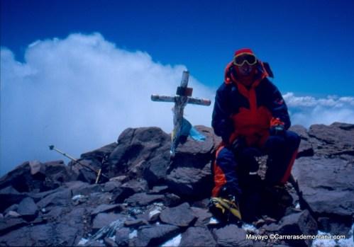 Mayayo en Cima Aconcagua (9.659m) DIC-1999