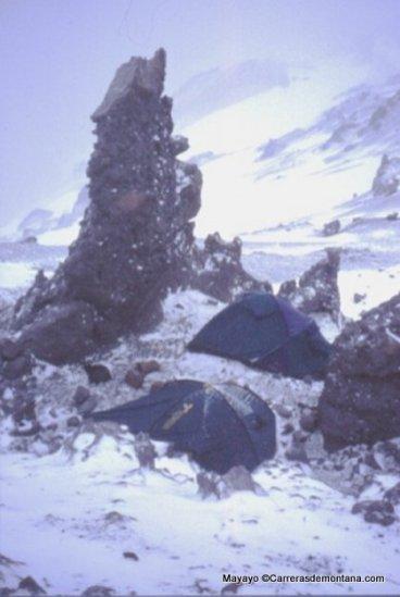 Nido de Cóndores 5400m