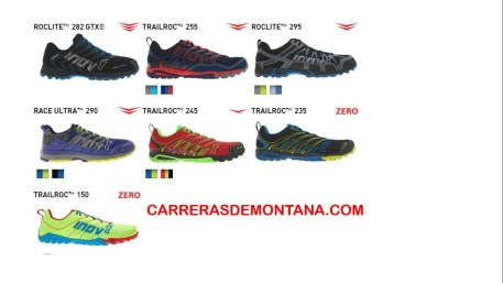 Zapatillas Inov8 Trail running
