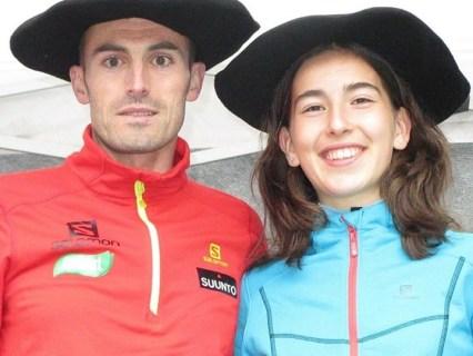 Iker y Leire, campeones Mendi Erronka 2014.