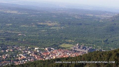 Carreras Montaña Madrid: Panorámica dsde la ascensión a Abantos
