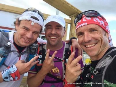 Cuerda Larga doble: Meta en Puerto Navacerrada, de vuelta tras 7 horas de trail.