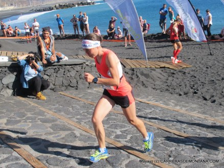 Transvulcania 2015 Campeona Kilómetro Vertical Alice Gaggi