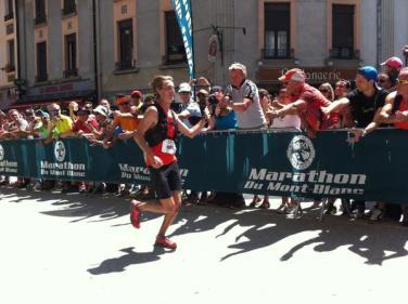 Alex Nichols campeon Marathon mont blanc foto @chamonixmtblanc