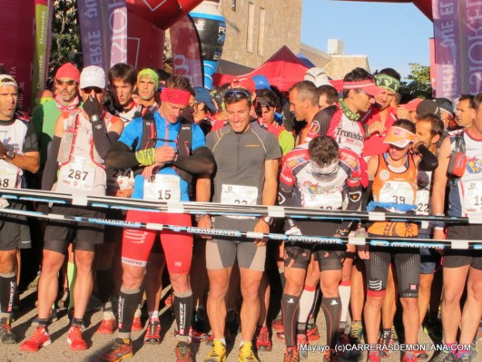 Salida Maratón Alpino Madrileño 2015.