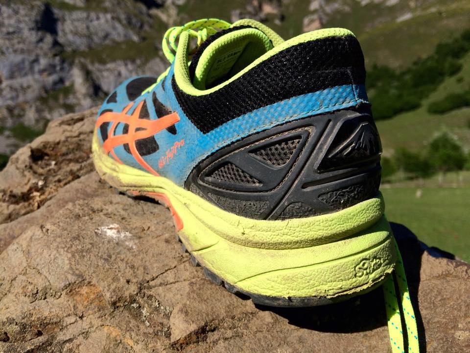Zapatillas Asics fuji pro. Foto Isma Muñoz (c