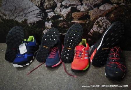 Adidas Trail Running 2015: Resumen de gama.