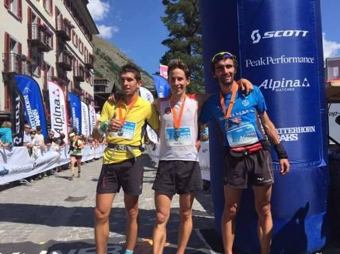 Matterhorn ultraks 2015 Podio masculino