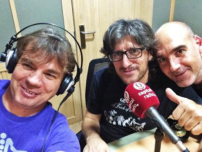 Estudios Aturitmofm con Luis Blanco y Javier Ulle.