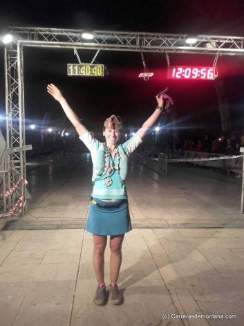 Patricia Scalise, campeona 101 Kms ronda 2016.