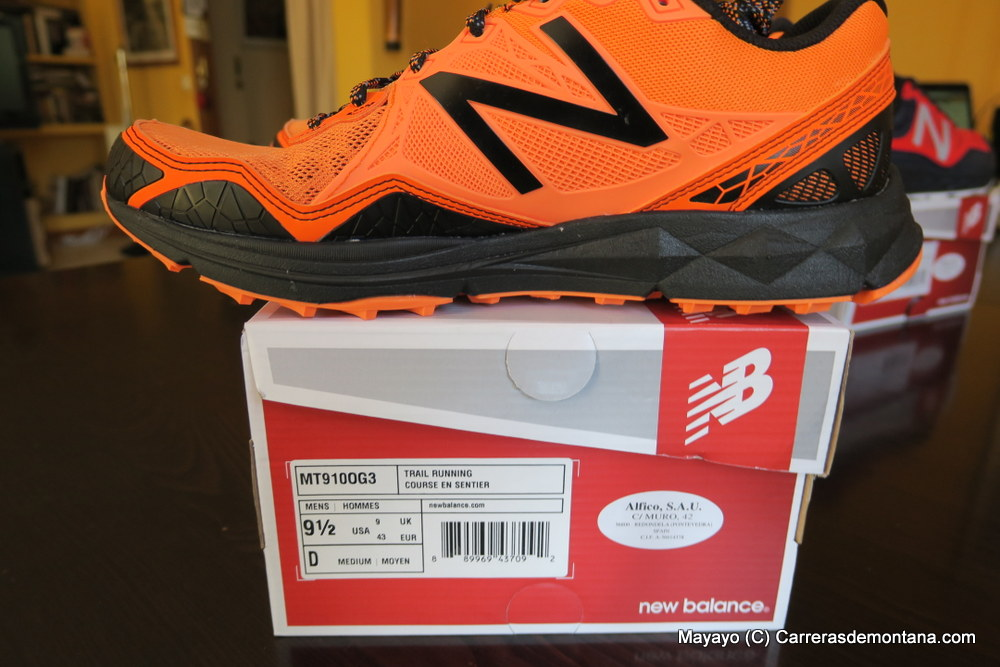 new balance trail running course en sentier