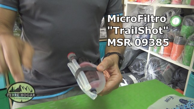 MicroFiltro TrailShot MSR 09385