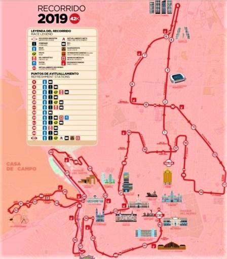 maraton madrid 2019 recorrido