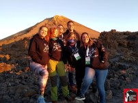 Voluntarios Tenerife Blue Trail 2019. Foto: Mayayo.