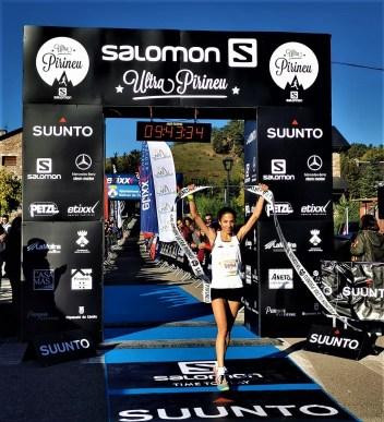 Marta Perez gana mitja pirineu 2019