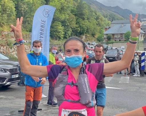Maite Maiora, campeona Trail Bareges 2020. Tiempo 2h54m.