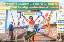 nuria gil campeona españa carreras de montaña rfea trail costa quebrada