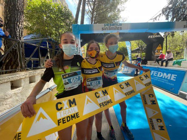 magina sky race fotos podio femenino promcion 2 by fedme