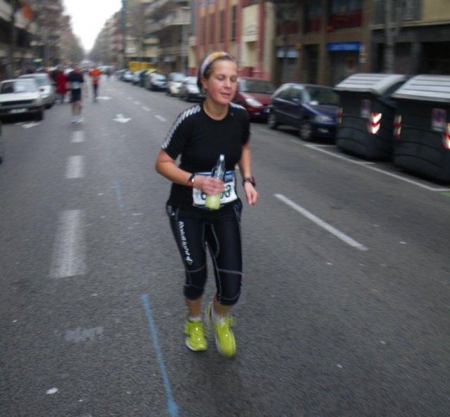 Andreas y Dallas en la Maratón Barcelona 09