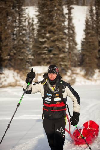 joel jaile segundo en yukon arctic ultra 2015