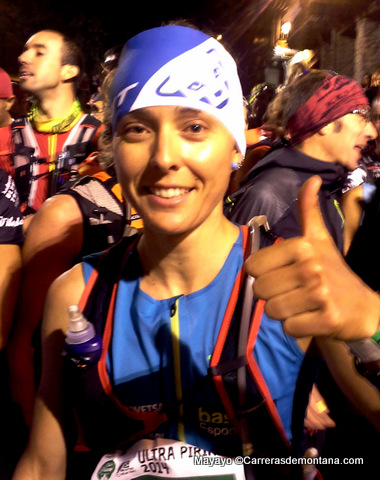 Anna Comet, corredora ultra trail Dynafit. Foto Mayayo.