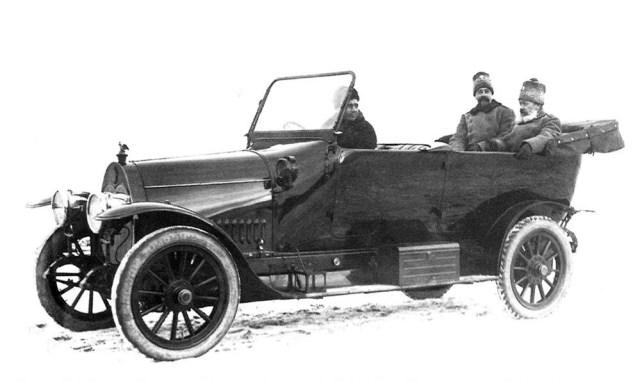1916.  Руссо-Балт Е 15/35 торпедо Руссо-Балт Е 15/35