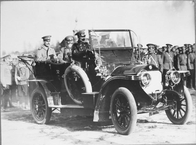 1912 Великий князь Андрей Владимирович  в автомобиле Бенц
