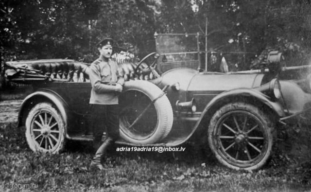 Автомобиль Pierce-Arrow в Русской Императорской Армии.