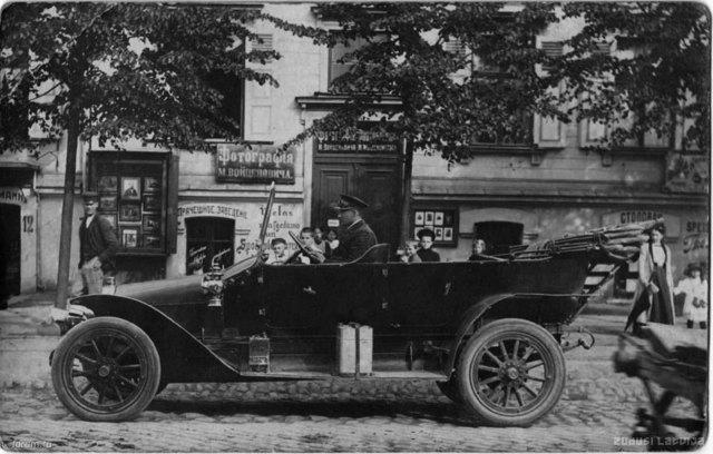 1910-е Минерва в Риге.