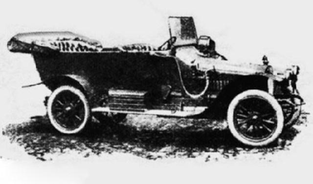 1913. Русско-Балтийский С24/40 XIII серии. Версия для армии.