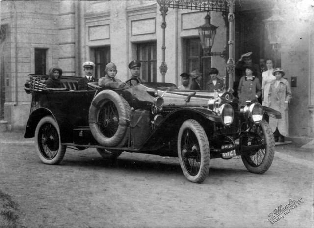 1913. Minerva KWV 28 CV, водитель Роман.  Москва.