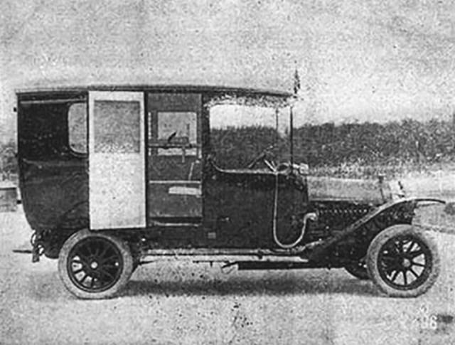 1914. Руссо-Балт С-24/40.