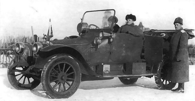 1915. Руссо-Балт С-24/40 в Русской Императорской армии.