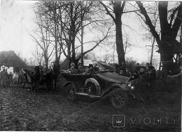 1915. Бенц в РИА. Перемышль. Галиция.