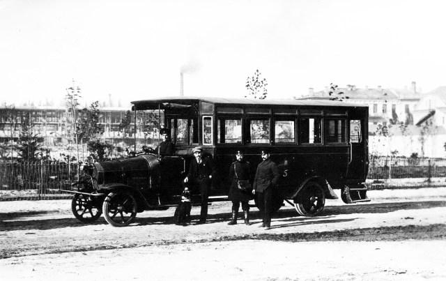 1914. Городской автобус Gaggenau. Киев.