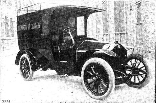 1914. Служебный автомобиль Даррак 16 h.p.в России.