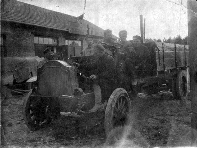 1916. Паккард 5-А. Фото сделано в 1923 году в Ташкенте.