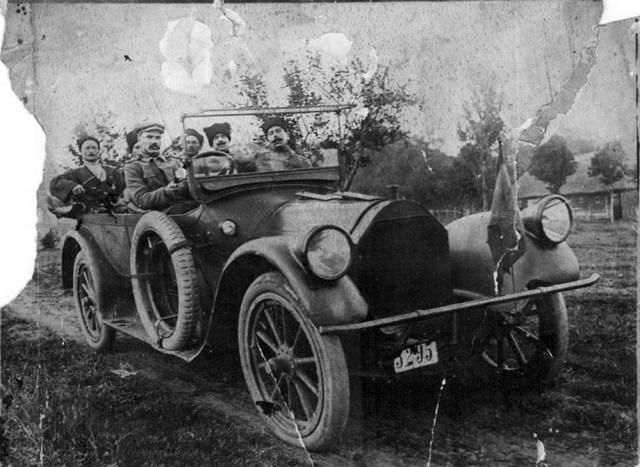 1918. Автомобиль Пирс- Эрроу. Кубань.