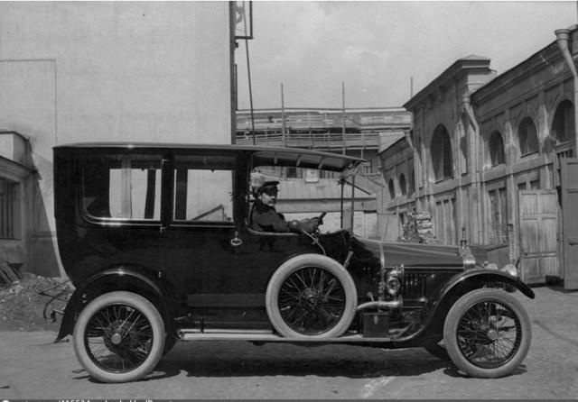 1913. Лимузин марки «Минерва», купца Морозова.Москва.