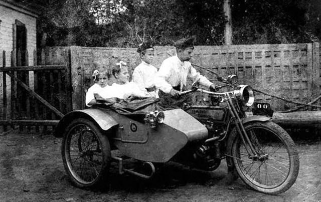 1914-1917. Мотоцикл «Harley-Davidson».