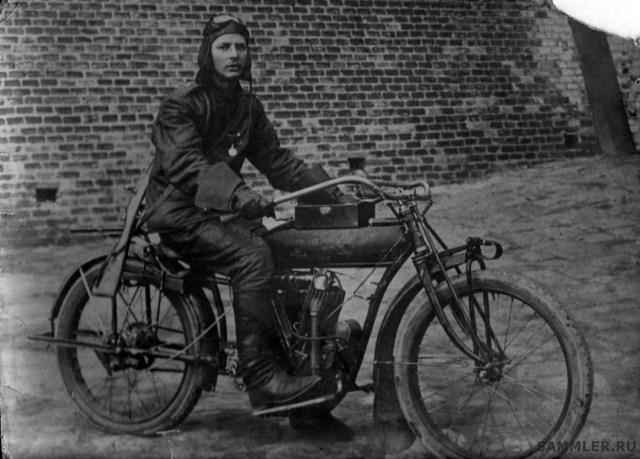 1914 – 1916. Мотоцикл Indian в Русской Императорской Армии.