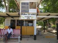 Banana Jo's beach bar.
