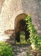 The two doors in the Belair windmill ruin.