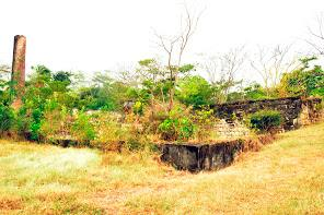 Lime factory ruins in Craigston.